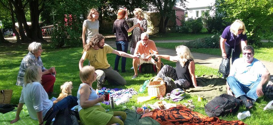 SwinG - Picknick im Northampton Park im Juni 2017