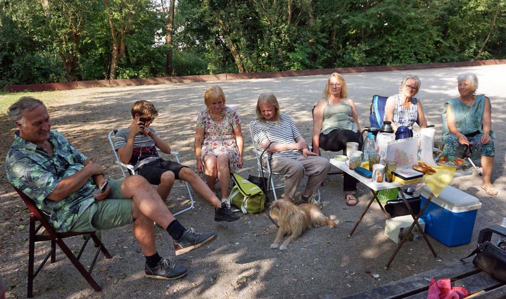 Sommerfest im August 2020 im North-Hampton-Park